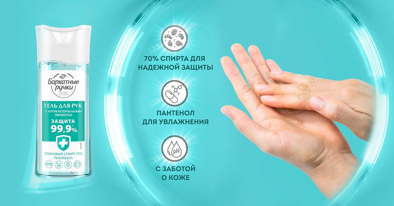 Антисептик и санитайзер для рук